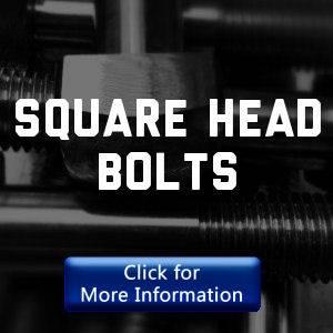 Square head bolts
