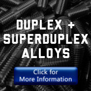duplex and superduplex aloys
