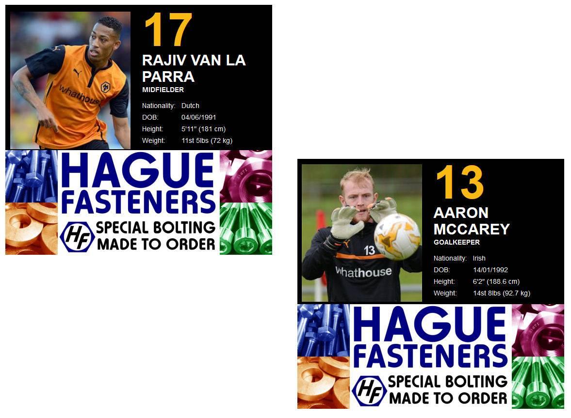 Wolves 2014 Hague Sponsor