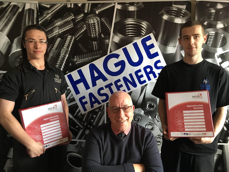 Hague Fasteners Engineering Apprenticeships