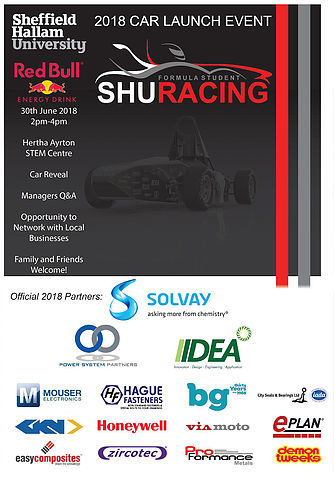 SHU Formula Student Racing Launch Event